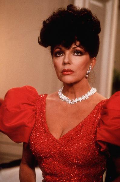 """""""Dynasty""""Joan CollinsC. 1988 ABC © 1988 Ron GroverMPTV - Image 9295_0013"""