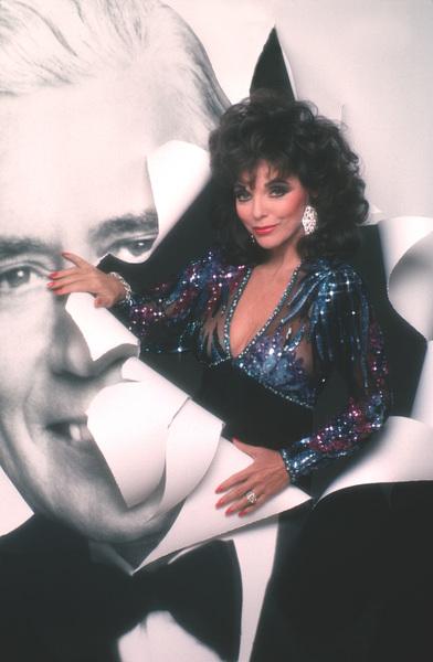 """Dynasty""Joan Collins1989 © 1989 Mario Casilli - Image 9295_0103"