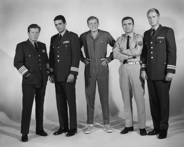 """ Voyage to the Bottom of the Sea""David Hedison, Richard Basehart, Allan Hunt, Terry Becker, Robert Dowdell circa 1964 © Irwin Allen Properties, LLC and Twentieth Century Fox Film Corporation. All rights reserved - Image 9298_0081"