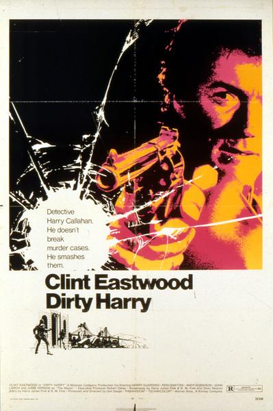 """Dirty Harry"" (Poster)1971 Warner Brothers** I.V. - Image 9444_0020"