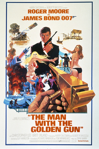 """The Man with the Golden Gun"" (Poster)1974 MGM** I.V. - Image 9453_0009"