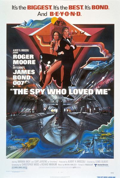 """The Spy Who Loved Me"" (Poster)1977 United Artists** I.V. - Image 9457_0009"