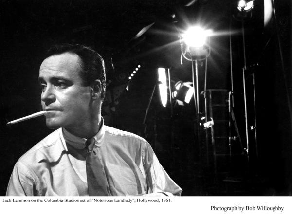 """Notorious Landlady""Jack Lemmon on the set.Photo taken in 1961 / Columbia © 1978 Bob Willoughby - Image 9459_0028"