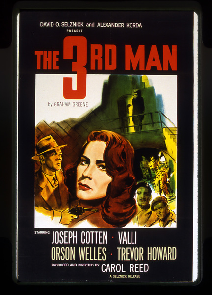 """The Third Man""Poster1949 Selznick**I.V. - Image 9470_0007"
