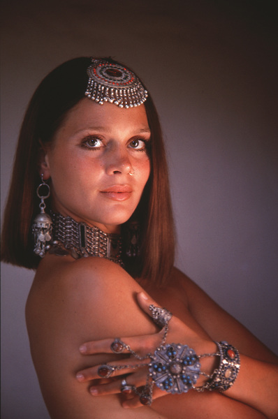 """""""Horsemen, The""""Leigh Taylor-Young1970 Columbia © 1978 Bob Willoughby - Image 9489_0012"""