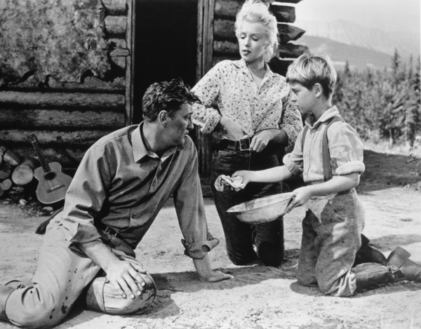 """River Of No Return""Robert Mitchum, Marilyn Monroe, Tommy Rettig1954 / 20th Century Fox**R.C. - Image 9550_0012"