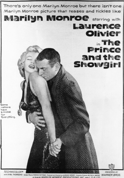 """""""Prince And The Showgirl, The"""" lobby card.1957 / Warner**R.C. - Image 9555_0004"""
