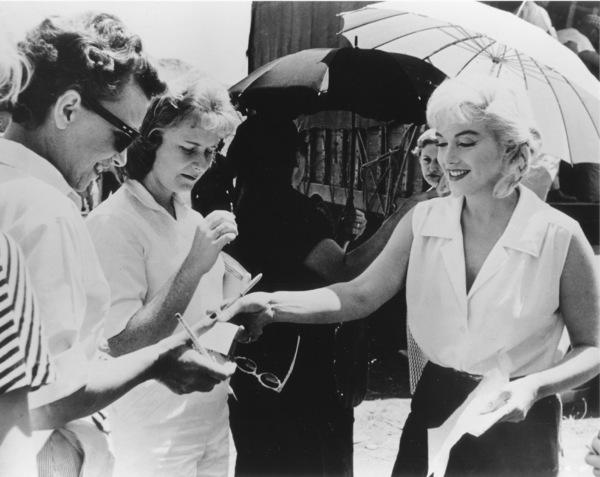 """""""Misfits, The""""Marilyn Monroe on the set.1961 / UA**R.C. - Image 9559_0027"""