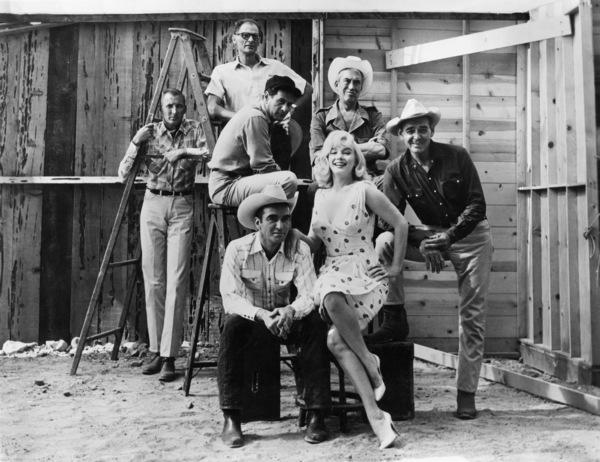 """The Misfits""Arthur Miller, Eli Wallach, John Huston, Montgomery Clift, Marilyn Monroe, Clark Gable1961 United Artists** I.V. - Image 9559_0085"