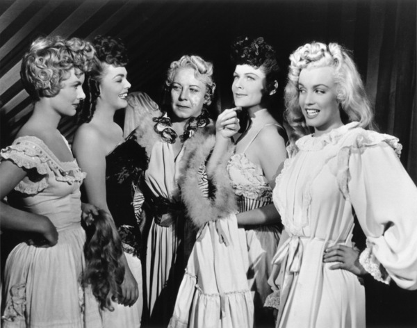 """Ticket To Tomahawk, A""Marion Marshall, Barbara Smith, Connie Gilchrist,Joyce McKenzie and Marilyn Monroe.1950 / 20th Century Fox**R.C. - Image 9561_0002"