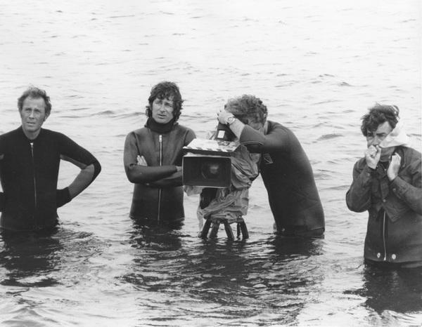 """""""Jaws""""Steven Speilberg and crew1974 Universal**I.V. - Image 9575_0034"""