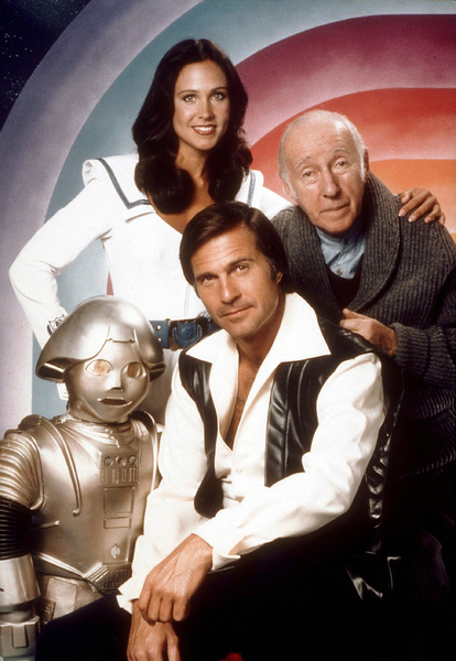 """Buck Rogers in the 25th Century""Erin Gray, Gil Gerard, Wilfred Hyde-White1979 NBCPhoto by Herb BallMPTV - Image 9641_0020"