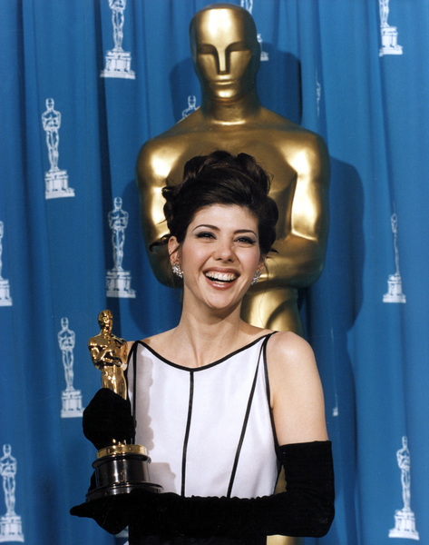 """Academy Awards: 65th Annual""Marisa Tomei (Best Supporting Actor Winner).1993 © 1993 AMPAS/LPI - Image 9677_0015"