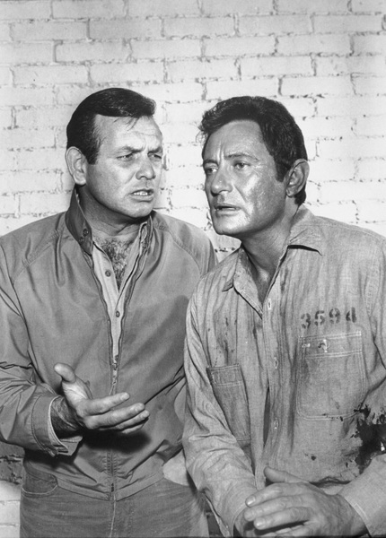"""The Fugitive""David Janssen, Paul Richards1965 - Image 9699_0003"