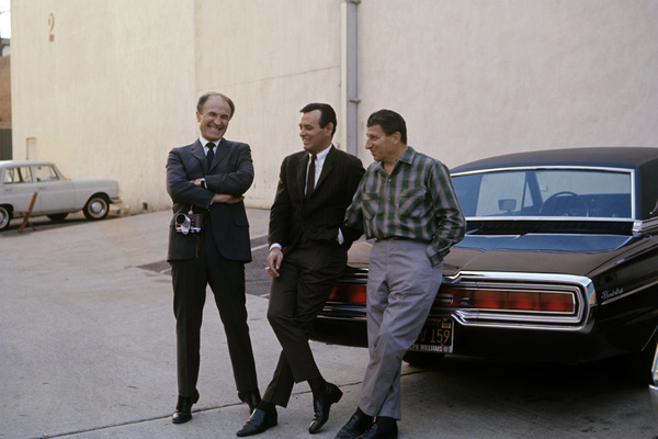 """The Fugitive""Barry Morse, David Janssen, Bill Raisch1964© 1978 Gunther - Image 9699_0035"