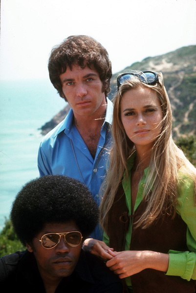 """Mod Squad, The""Clarence Williams, Michael Cole, Peggy Lipton1969 ABC © 1978 Gene TrindlMPTV - Image 9731_0014"