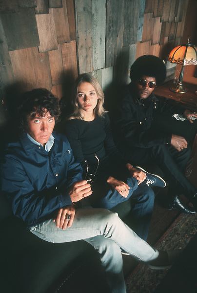 """""""Mod Squad""""Michael Cole, Peggy Lipton and Clarence Williams III1969 **H.L. - Image 9731_0026"""