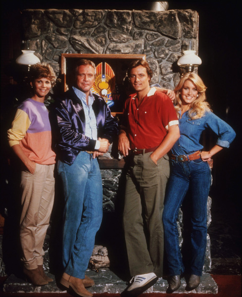 """Fall Guy, The""M. Post, L. Majors, D. Barr, H. Thomas1982 ABC / 20thPhoto by Bud GrayMPTV - Image 9739_0009"