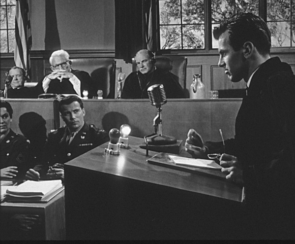 """Judgment at Nuremberg""Maximilian Schell, Spencer Tracy, William Shatner1961 UAPhoto by Al St. Hilaire - Image 9892_0005"