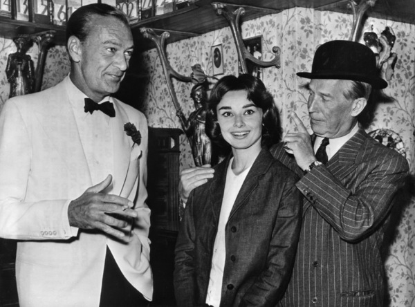 """""""Love in the Afternoon""""Gary Cooper, Audrey Hepburn, Maurice Chevalier1957** I.V. - Image 9902_0033"""