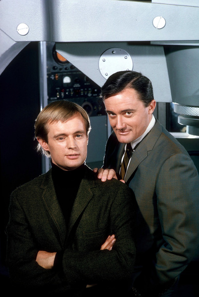 """Man From U.N.C.L.E.""David McCallum, Robert Vaughn1966 NBC © 1978 Gene TrindlMPTV - Image 9948_0018"