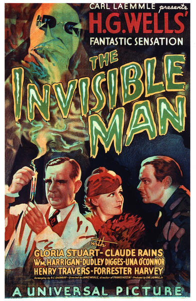 """The Invisible Man""Poster1933 Universal**I.V. - Image 9956_0005"