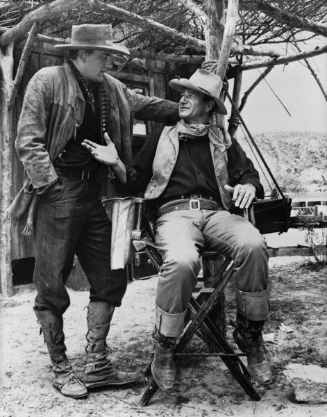 """Hondo""James Arness, John Wayne1953© 1978 Bud Fraker - Image 9960_0016"