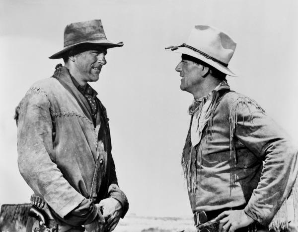 """Hondo""James Arness, John Wayne1953© 1978 Bud Fraker - Image 9960_0032"