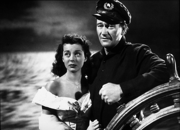 """""""Wake of the Red Witch,"""" Republic 1948.Gail Russell and John Wayne. - Image 9975_0001"""