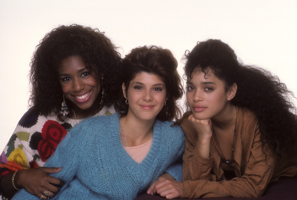 """A Different World""Marisa Tomei, Dawnn Lewis, Lisa Bonet1987© 1987 Mario Casilli - Image 9987_0012"