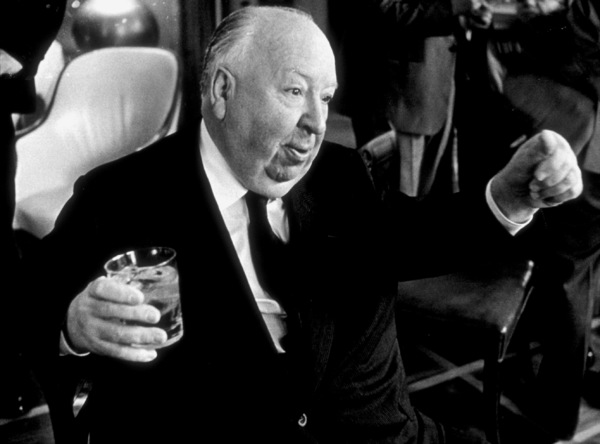Directors Group Party.  11/72.Alfred Hitchcock. © 1978 Marv Newton - Image 9999_0015