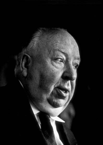 Directors Group Party, 11/72.Alfred Hitchcock © 1978 Marv Newton - Image 9999_0019
