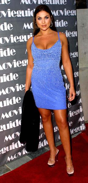 """Movieguide Awards - 10th Annual"" 3/20/02Nadia Bjorlin © 2002 Scott Weiner - Image nad_001c"